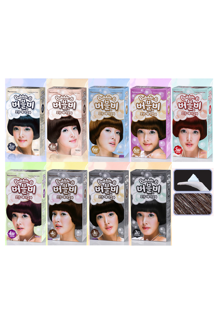Bubble B Foaming Hair Color Dseshopusa Beauty Products Made